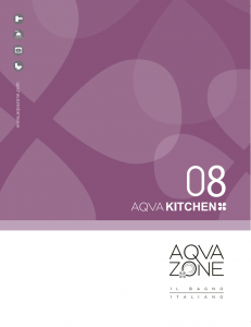 AqvaZone Kitchen 231x300 AqvaZone Kitchen Broschure, DIN A4